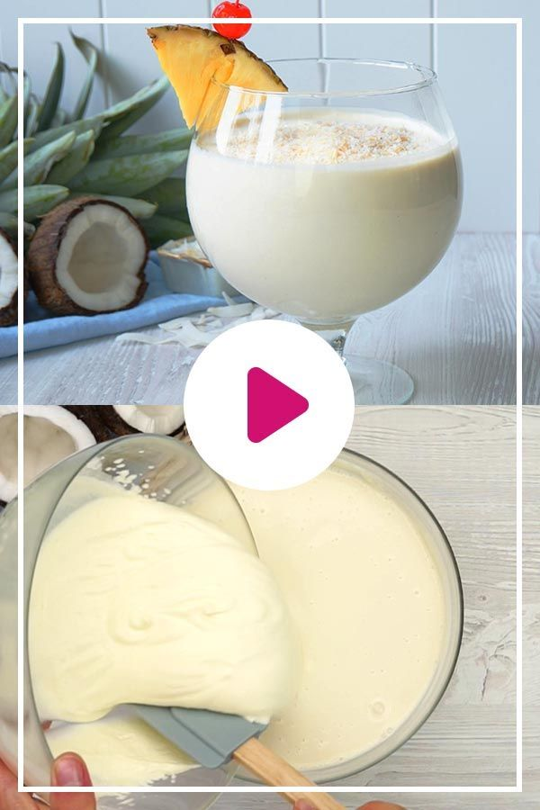 Photo of Piña Colada Mousse – the simple party recipe | DELICIOUS