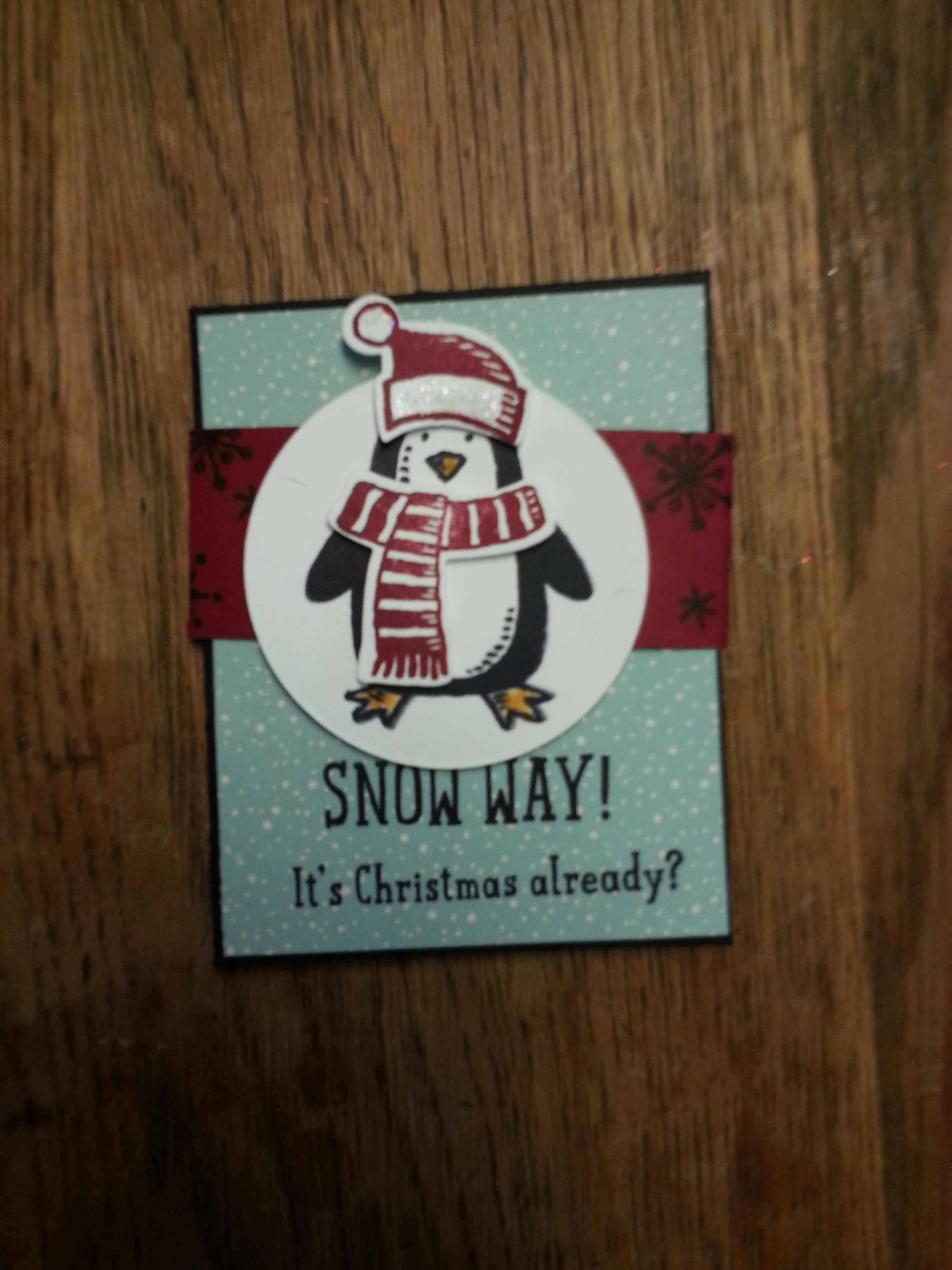 Snow Place, Stampin' Up! dwurster.stampinup.net