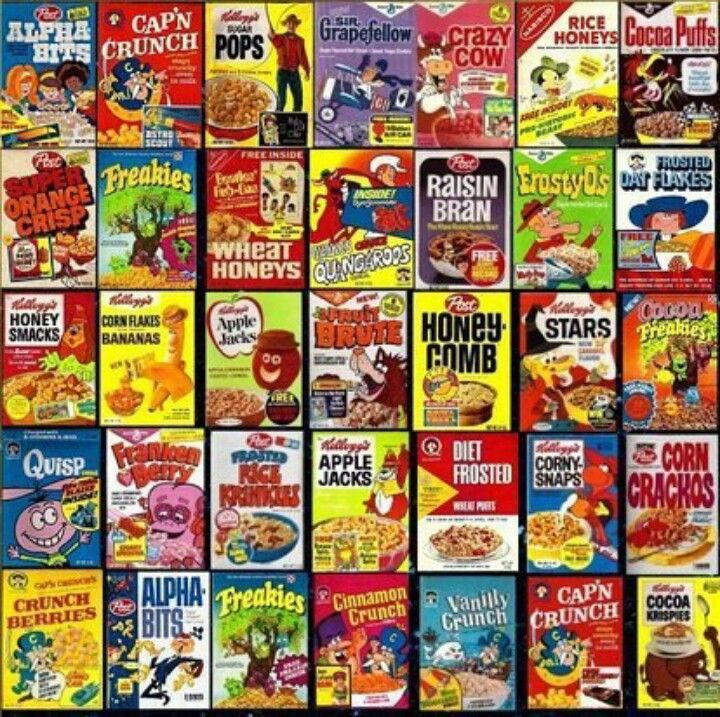 Miniature Cereal Boxes! My Grandma Always Had These When