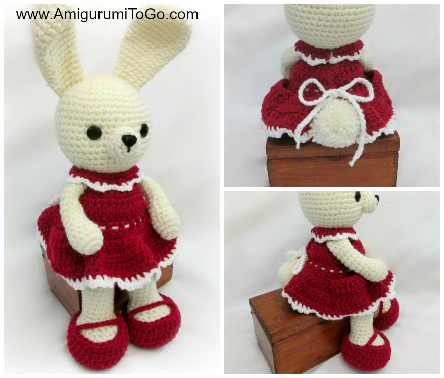 Carrot Dress For Dress Me Bunny ~ Amigurumi To Go | Crochet Toys and ...