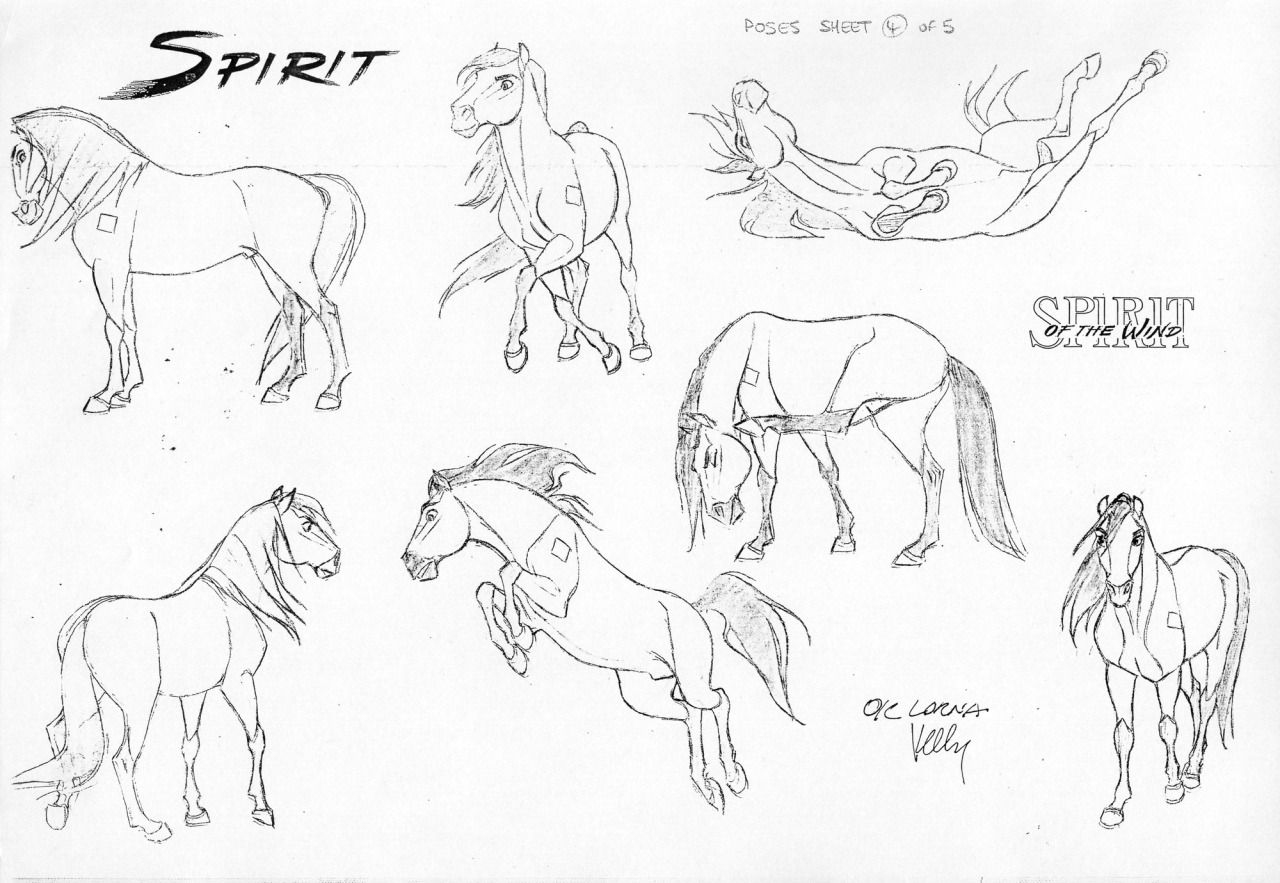 Spirit james baxter creature animal design pinterest - Comment dessiner spirit ...