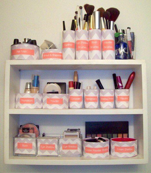 organizar cosméticos | ACCESORIOS | Pinterest | Decora tu hogar ...