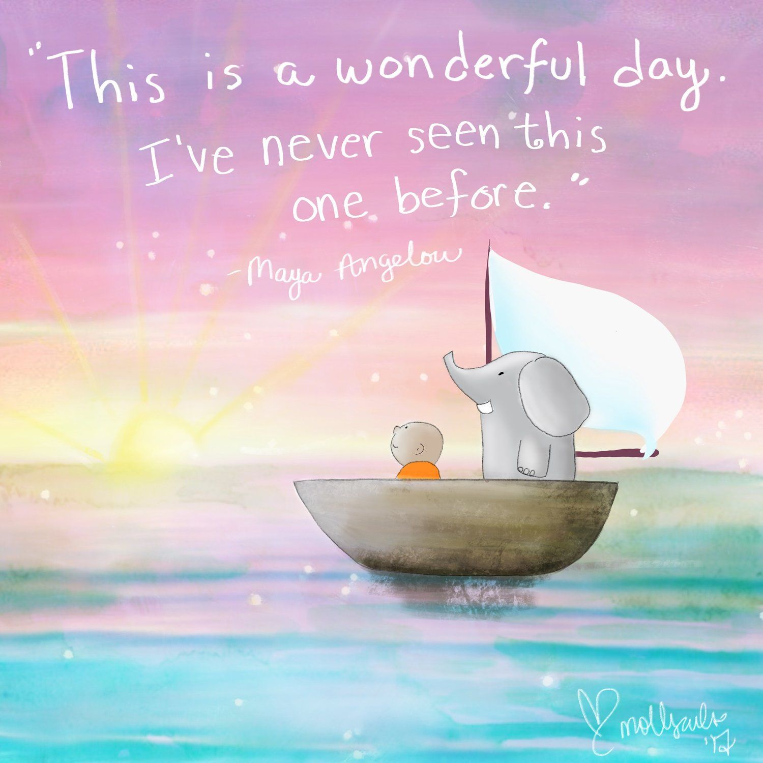 New Day Quotes This Is A Brand New Day  Insightt  Pinterest  Buddha Thoughts .