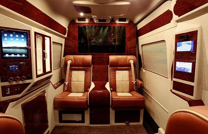 Interior Lm Signature Logo Mercedes Benz Sprinter Modification By