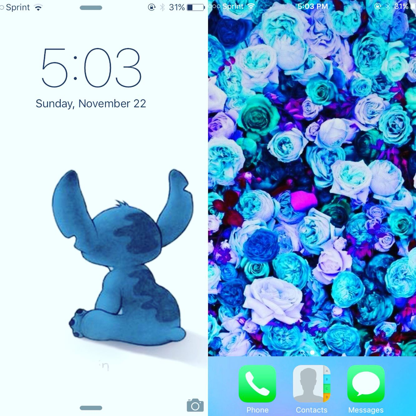 Wallpaper iphone stitch - Wallpaper Iphone Stitch Blue Iphone 6s Stitch Wallpaper
