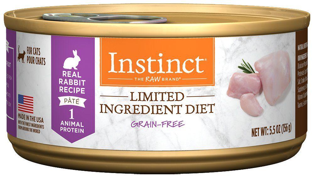 Instinct limited ingredient diet grain free real rabbit