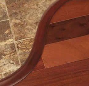 wood to tile floor transition pics handling curved transitions with hardwood floors - Wood Tile Flooring