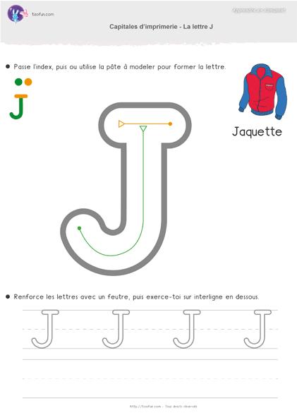 PDF Feuille d'écriture Capitale d'imprimerie Maternelle MS ...