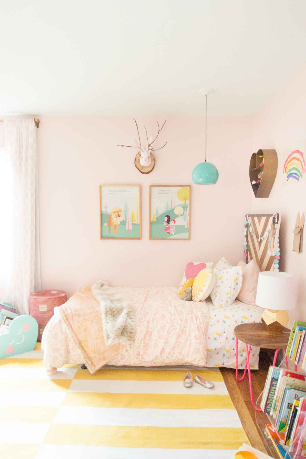 Room For Girls Design: Pink Shared Girls Room - Lay Baby Lay