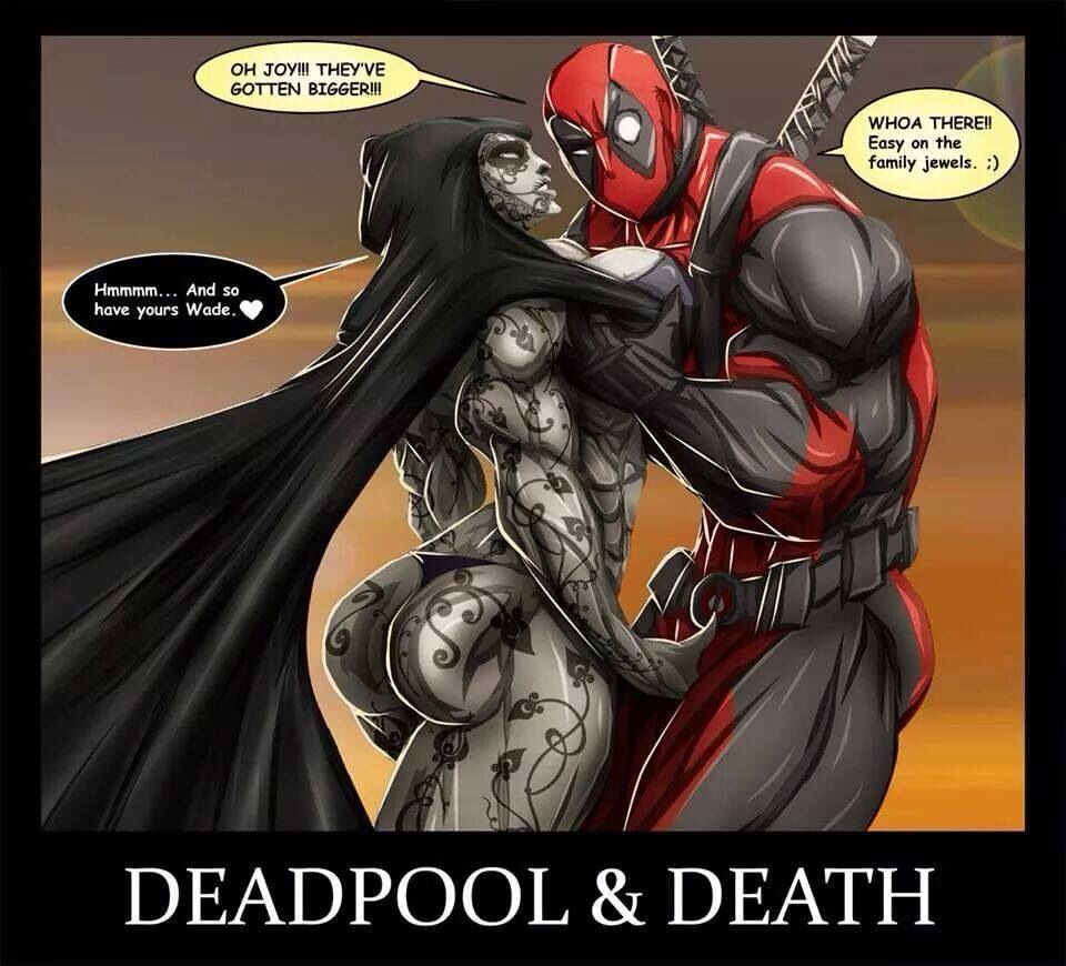 Deadpool And Lady Death Deadpool and lady deat...