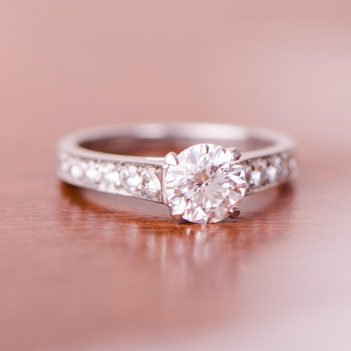 1.14ct Cartier Engagement Ring | Vintage Engagement Rings ...