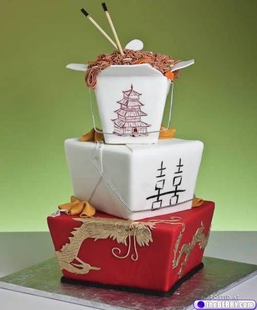 12 Weird And Amazing Wedding Cakes