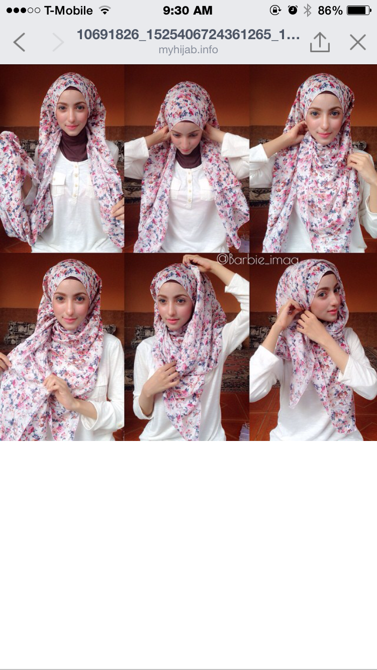 Pin By Jasmin Beegum On Hijab Tutorials Pinterest