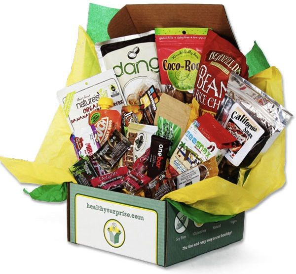 Healthy gift basket paleo recipes pinterest snack box healthy gift basket monthly subscription boxesgluten free negle Gallery
