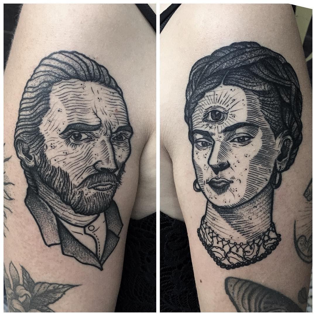 vincent y frida Armpit tattoo, Tattoos, Inspirational