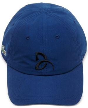 1eab2776 Lacoste Collection For Novak Djokovic Men's Signature Ultra Dry Cap ...