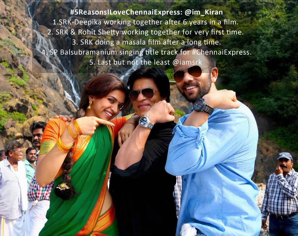 Chennai Express on | Shahrukh khan, Chennai express ...