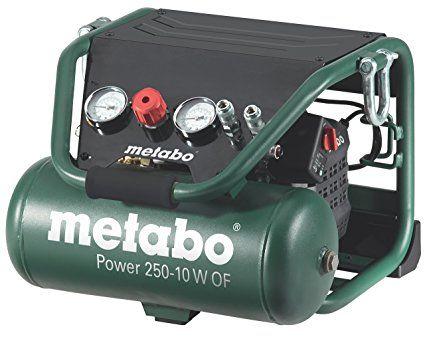 Metabo Power 250-10 W OF - 10 cv compressore 2 litri senza olio, la costruzione speciale