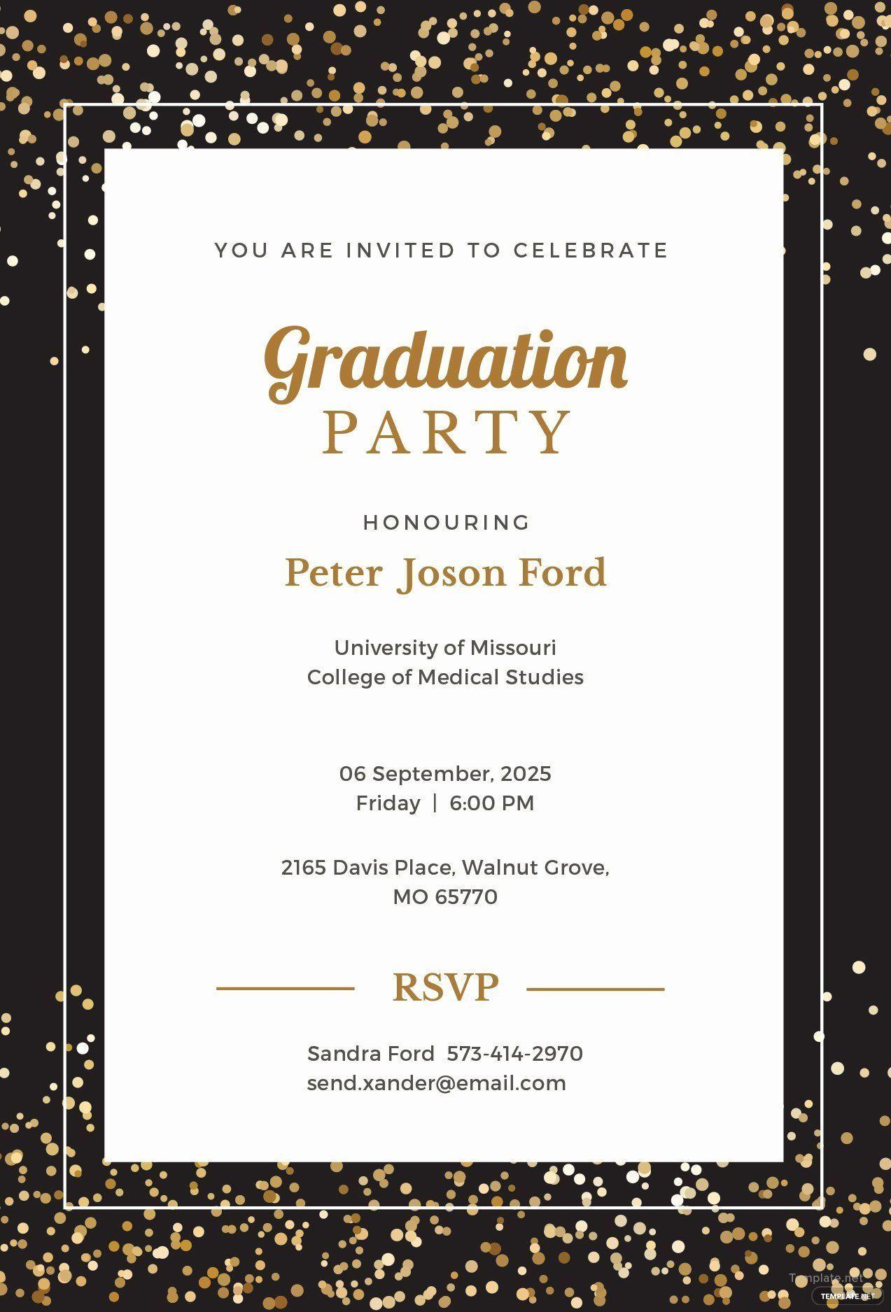 Graduation Invitation Templates Microsoft Word Fresh Free Simple Graduation Invitations Template Graduation Party Invitations Templates Graduation Invitations Microsoft word invitation template free