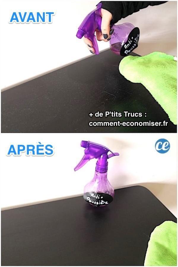 Le Spray Anti-Poussière Fait Maison (Encore Plus Efficace ...