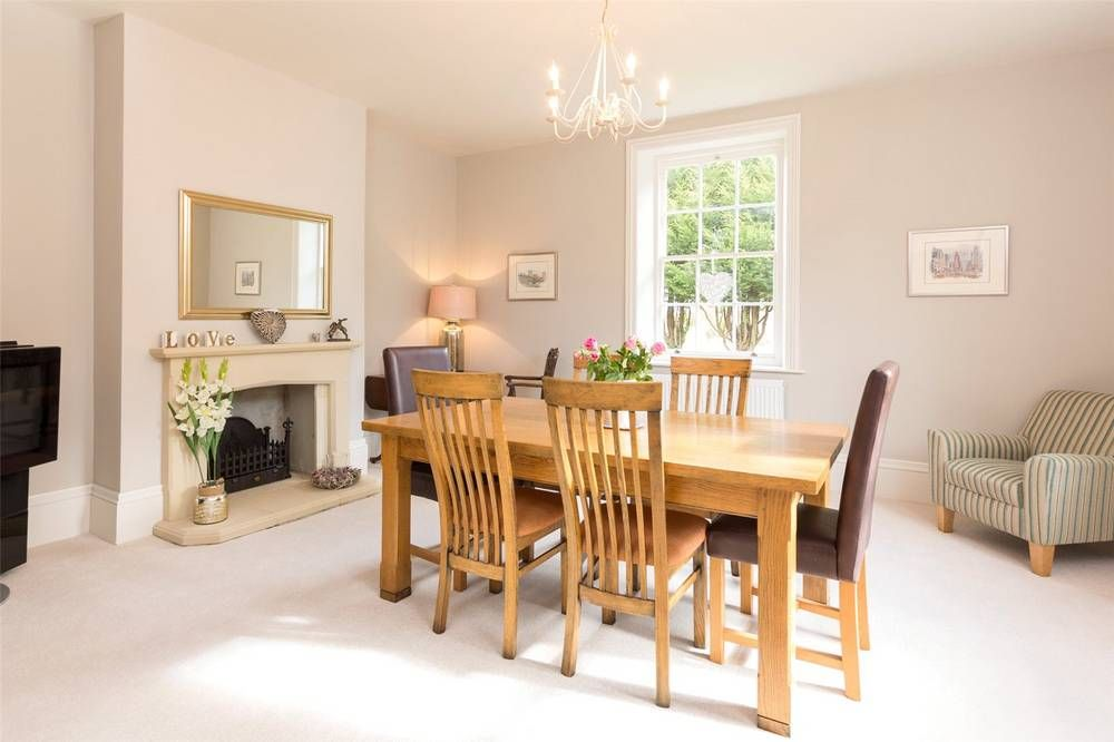 A Beautifully Refurbished Georgian Farmhouse Located Close To The Hamlet Of Pipewell Hall Cellar