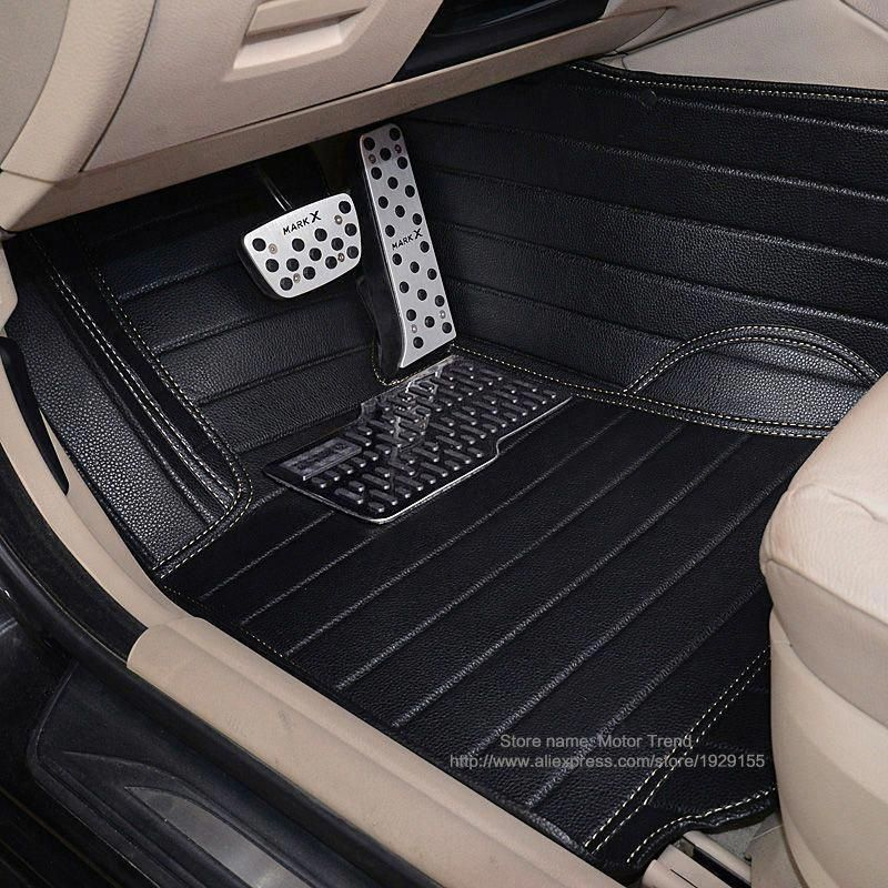 Custom Fit Car Floor Mats For Audi A1 A3 A6 A7 A8 Q3 Q5 Q7