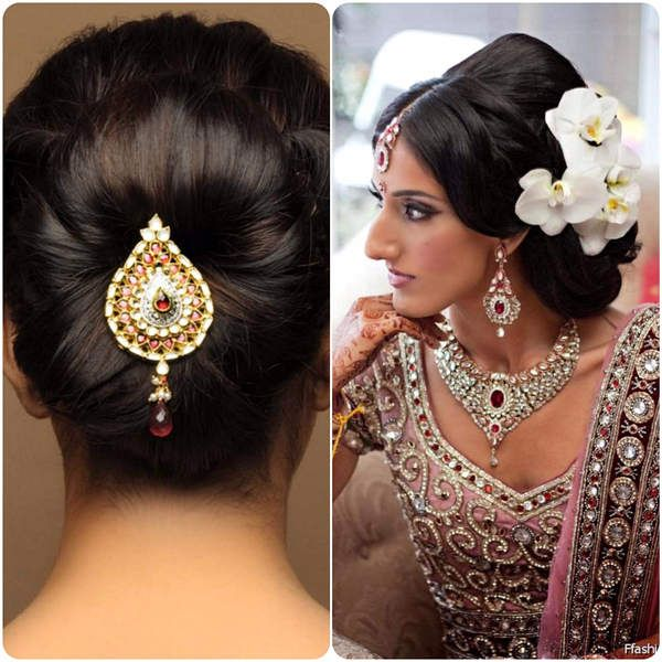 Indian Wedding Hairstyles Pictures: Indian Wedding Bridal Hairstyles That Make You More Than