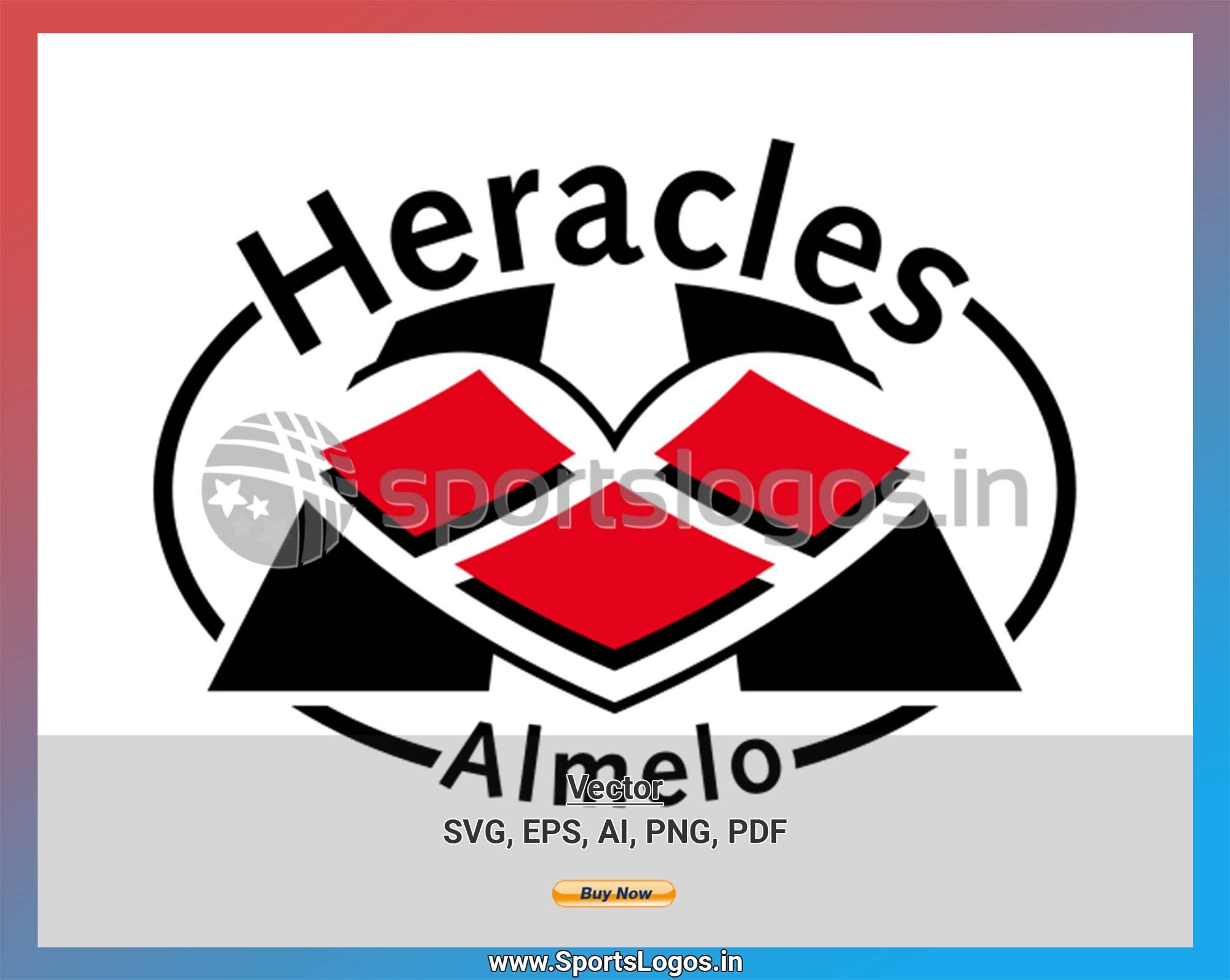 Heracles Almelo Soccer Sports Vector Svg Logo In 5 Formats Spln001826 Sports Logos Embroidery Vector For Nfl Nba Nhl Mlb Milb And More In 2020 Embroidery Logo Sports Logo Sport Soccer