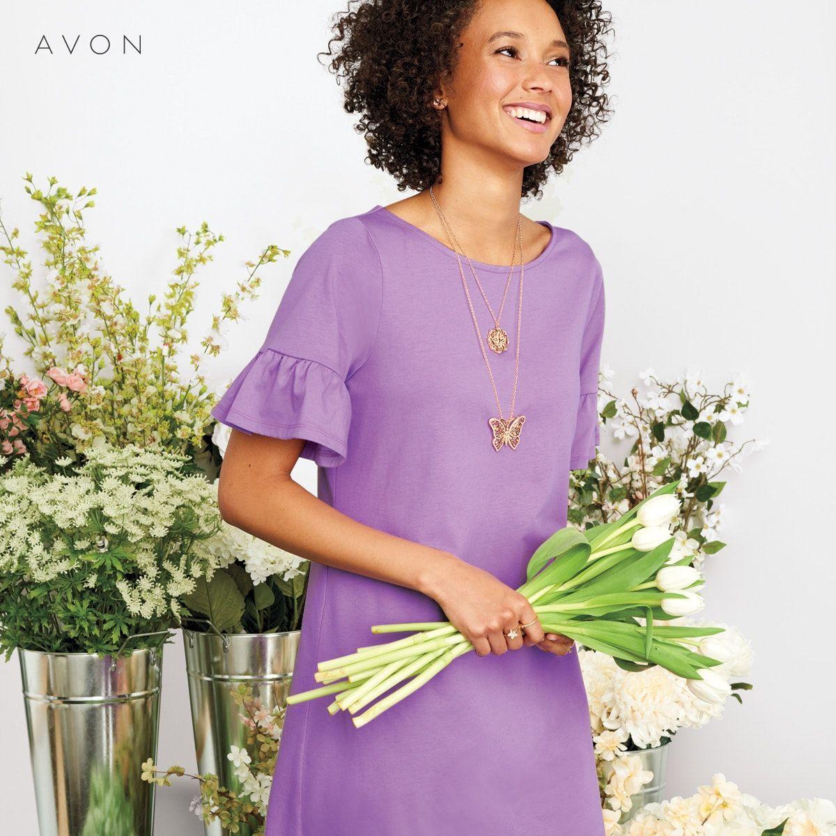 Ella Dress in 2019 | AVON CAMPAIGN 8 | Fashion, Avon fashion, Avon