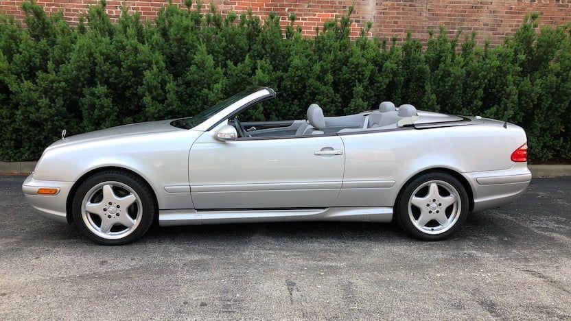 2001 MercedesBenz CLK430 Convertible T62 Harrisburg