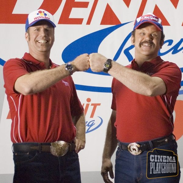 5b656a572 Talladega Nights (2006) I got a message for all of 'em. Shake... and bake .  - Cal Naughton, Jr. (John C. Reilly) What does that do?