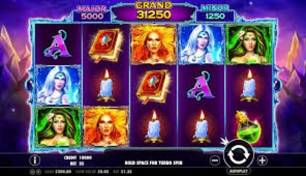 Win Magical Money and Bitcoin Playing The New Wild Spells Slots