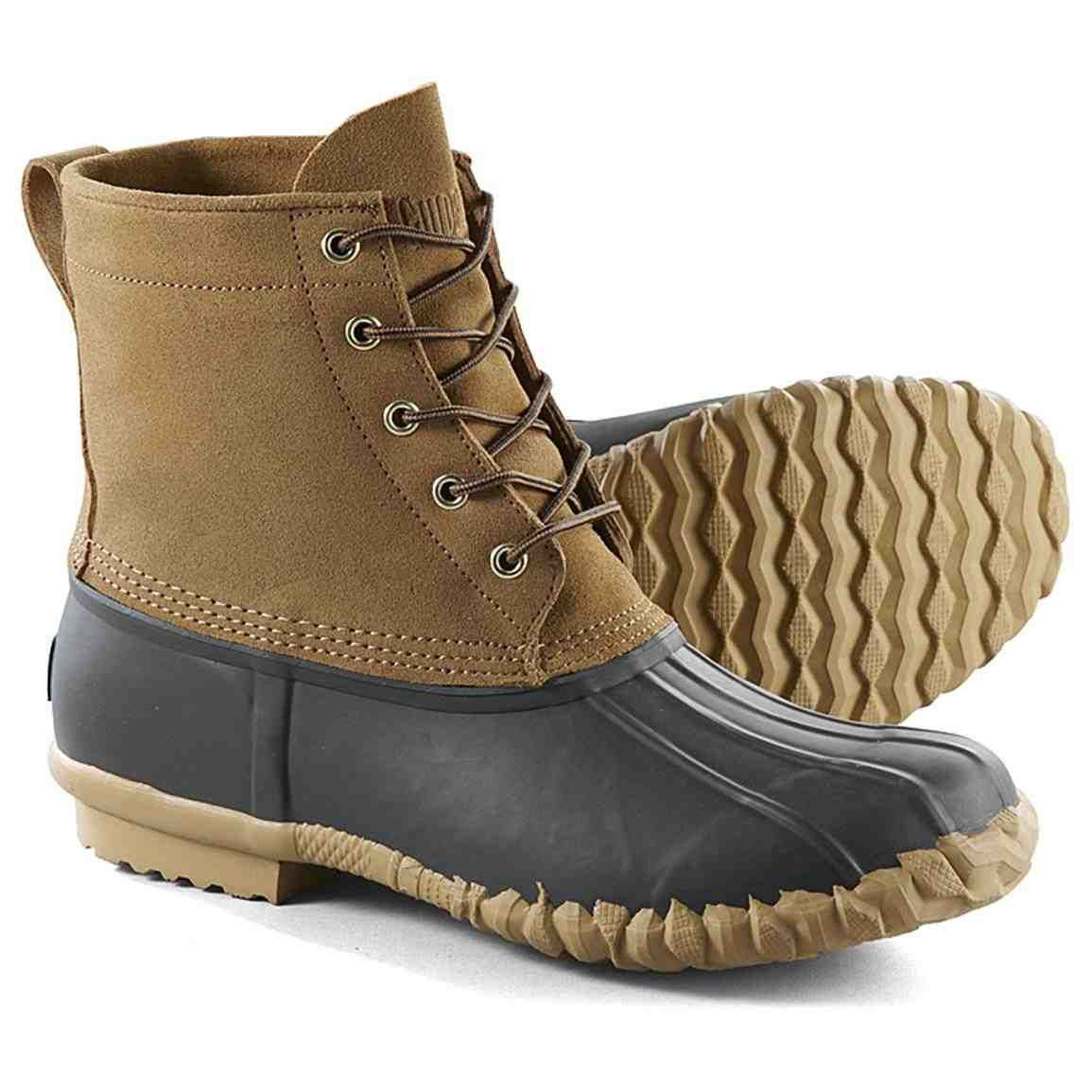 Guide Gear Lace-Up Insulated Duck Boots 400-gram
