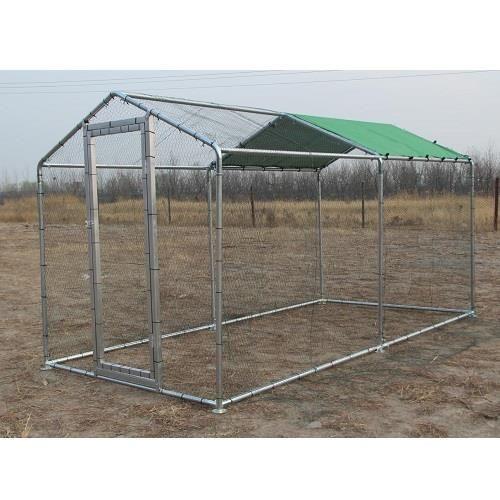 Recinto da giardino per animali domestici e da cortile 4x2 - Giardino per cani ...