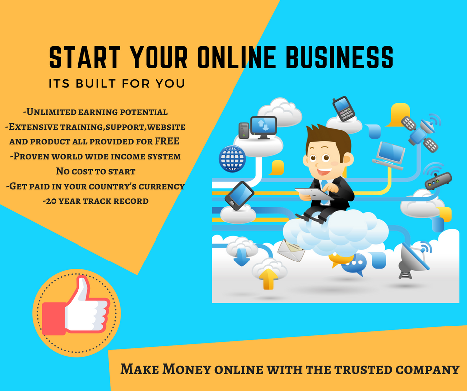 start your own internet business and build residual and leveraged