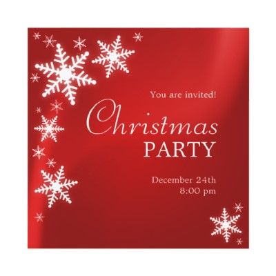 Christmas Party Invitation Template | Party and Hosting Ideas ...