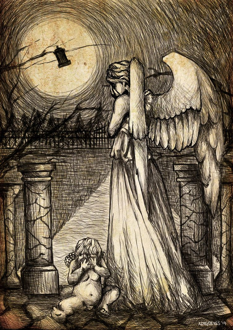 Weeping Angels by VoidmageHusher on DeviantArt
