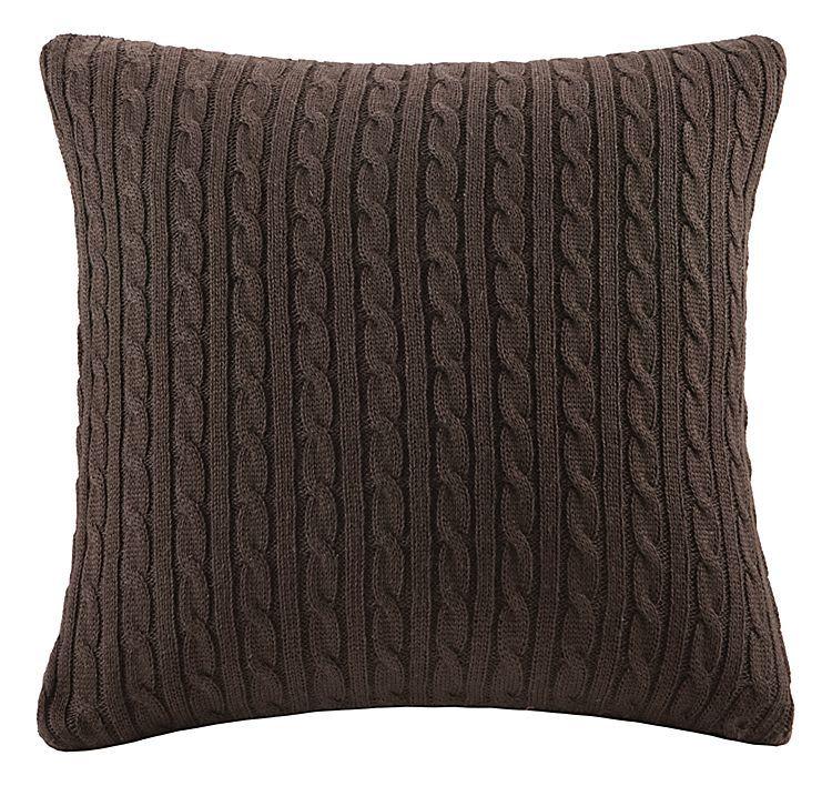 Woolrich Hadley Plaid Bedding Collection Cable Knit Square Pillow Plaid Decorative Pillows Plaid Bedding Square Pillow