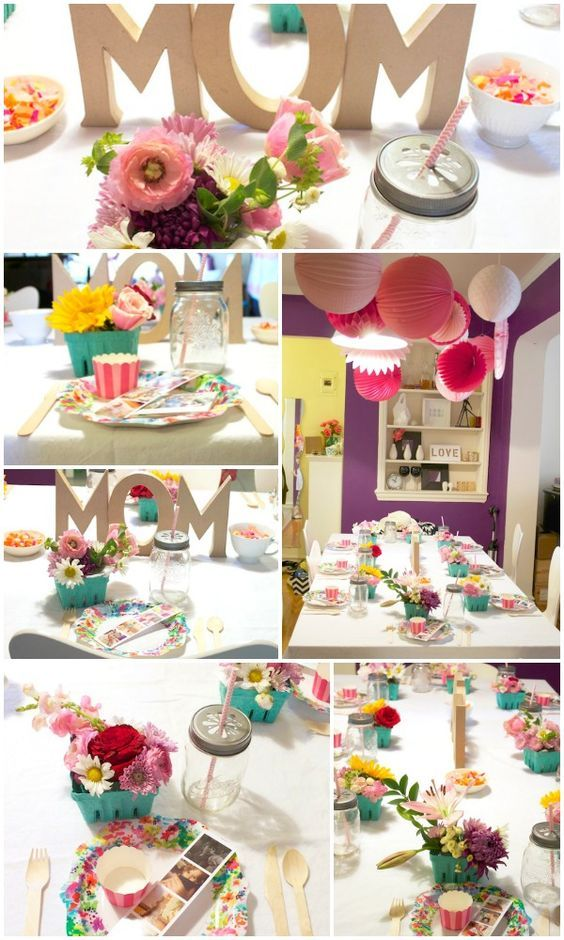 Mother 39 s day brunch inspiration brunch table brunch and Brunch table decorations