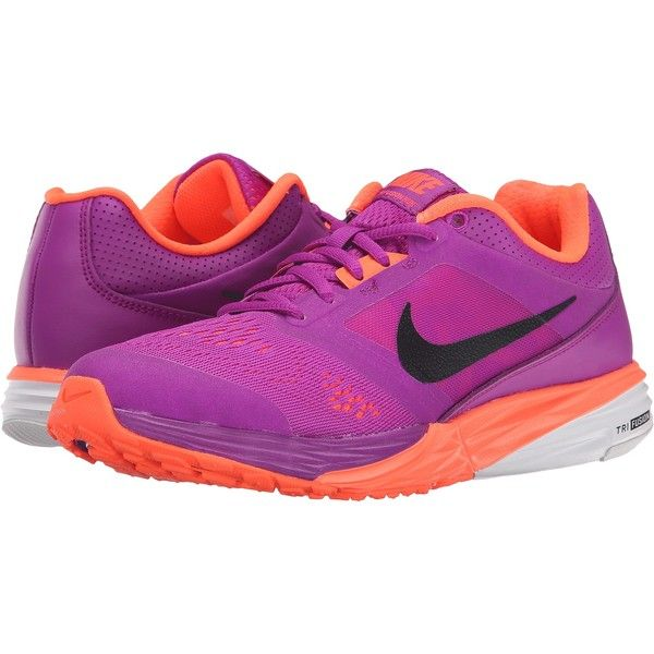 Womens Shoes Nike Tri Fusion Run Vivid Purple/Hyper Orange/White/Black