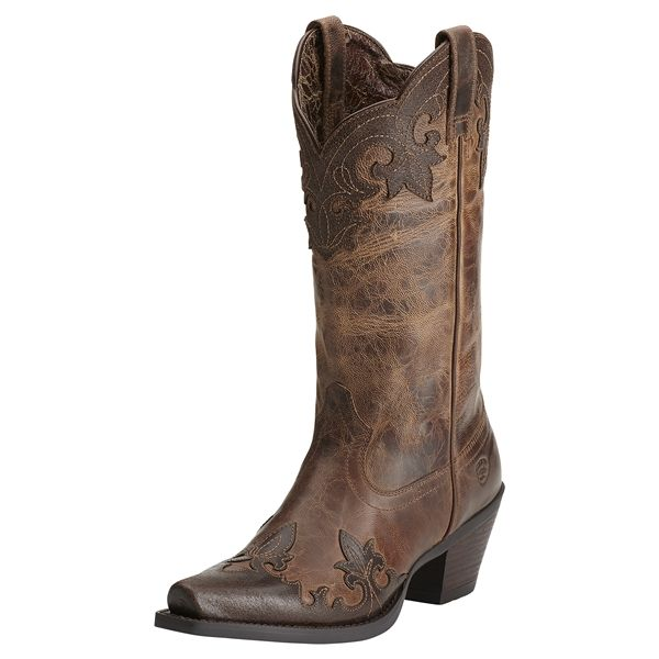 6fa905a68a5 Ariat Ladies Delphine Tigereye Brown Boots 10014133 | Country ...