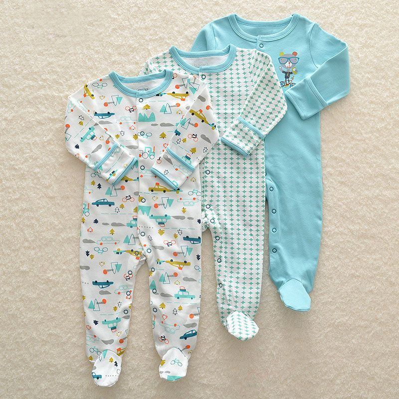 4dd058a990ae 3Pcs Newborn Baby Girl Romper Winter Baby Boy Jumpsuit Clothes 100 Cotton  Underwear Rompers Clothing High. Click visit to buy  babyboyunderwear