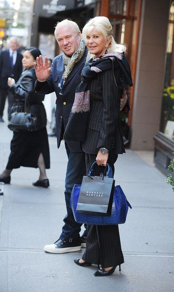 Ivana Trump Photos Photos Ivana Trump Shops On Madison Avenue
