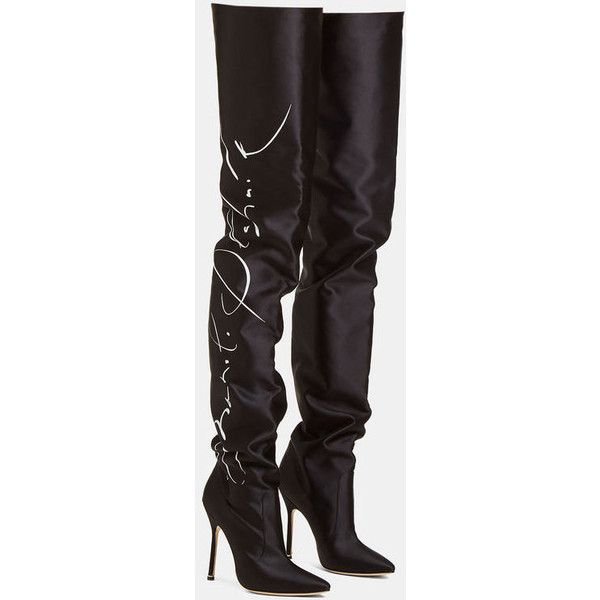 VetementsManolo Blahnik Signature Thigh High Boots cD5oF5q