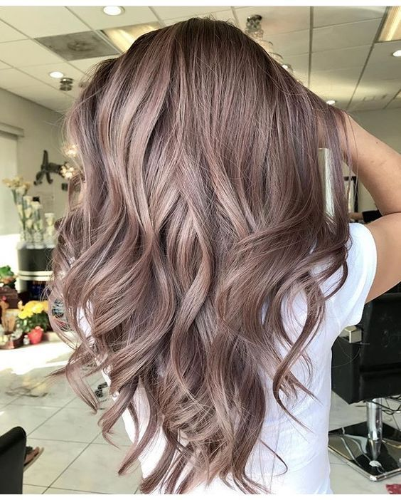 Mushroom Brown Hair Color Ideas and Looks - Part 19 #fallhaircolorforbrunettes