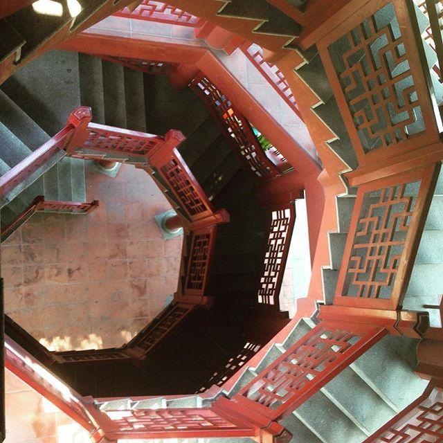 #china #chine #guangdong #guangdongprovince #escalier #stairs…