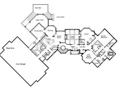 cool house floor plans - Cool House Floor Plans