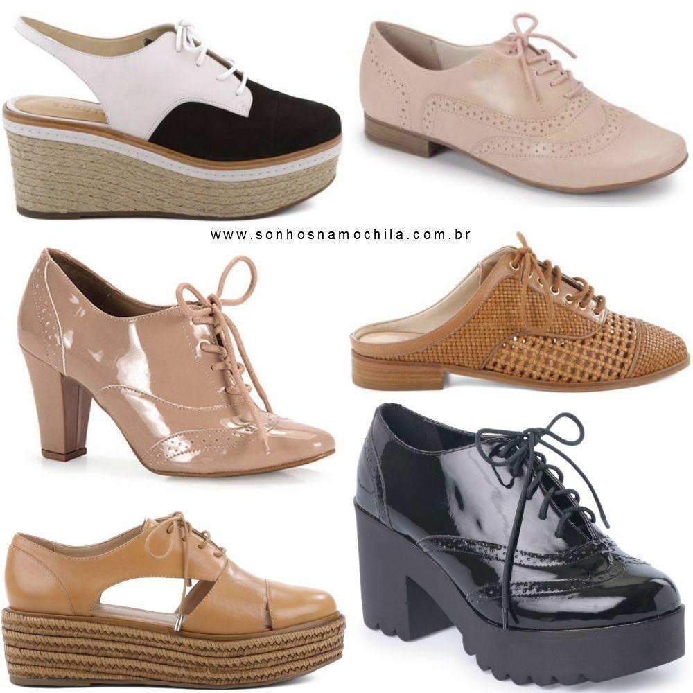 d9c18ee2a Tendência  Tudo Sobre Sapato Oxford