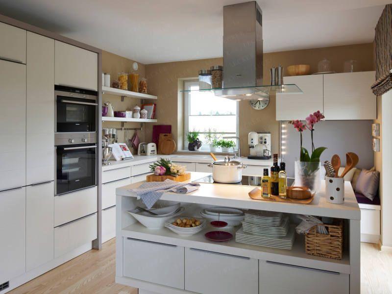 die küche als offener erlebnisraum - wohnidee.de | küche | pinterest, Hause ideen