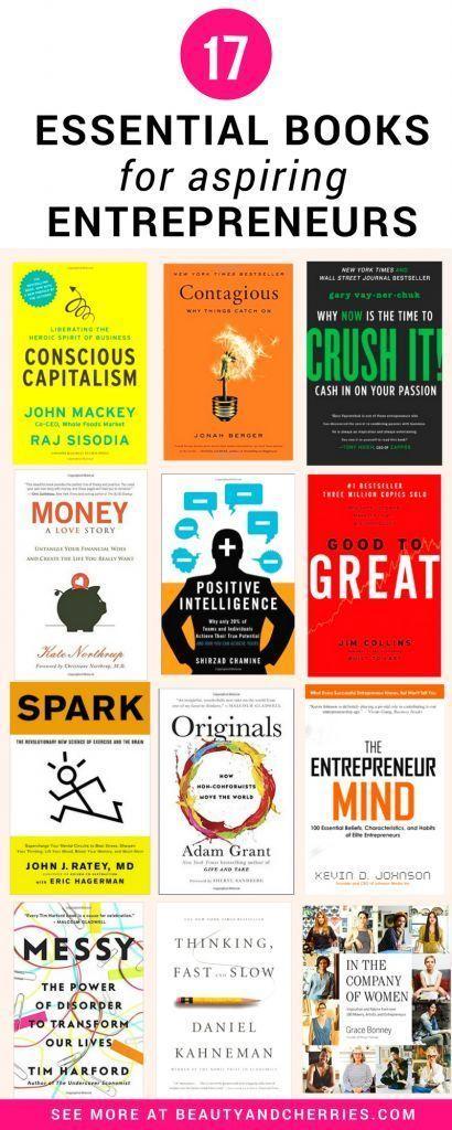 17 Essential Business Books For Aspiring Entrepreneurs Successful